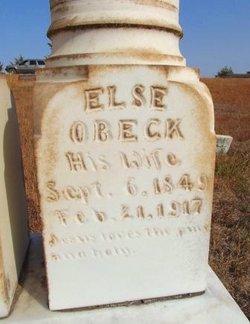 Elsie M. <I>Obeck</I> Johnson
