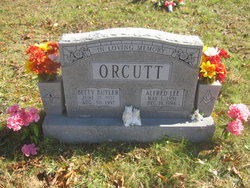 "Mrs Betty Jo ""Betty"" <I>Butler</I> Orcutt"