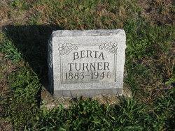 "Bertha ""Berta"" <I>Bledsoe</I> Turner"