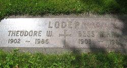 Bess Mary <I>Pflug</I> Loder