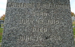 Catharine S. <I>Jones</I> Williamson
