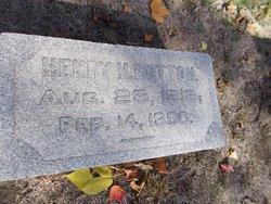 Dr Henry Harrison Button