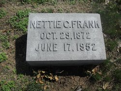 """Antanette Buford """"Nettie"""" <I>Cartwright</I> Frank"""
