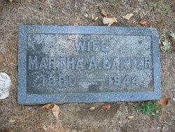 Martha A. Carter