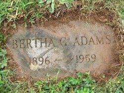 "Bertha Gertrude ""Bertie"" Adams"