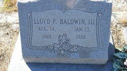 Lloyd P. Baldwin, III