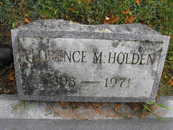 Florence M Holden