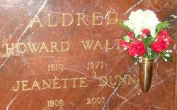 Janie Jeanette <I>Dunn</I> Aldred