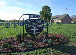 Block Trinity Lutheran Cemetery