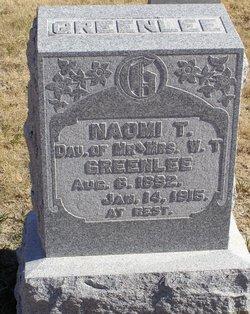 Naomi T Greenlee