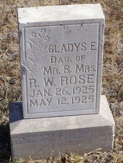 Gladys E Rose