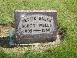 Nettie Ellen <I>Dobie</I> Scott-Wells