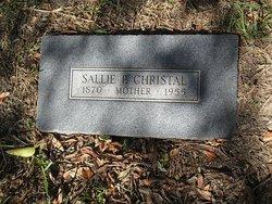 Mrs Sally P <I>Townsend</I> Christal