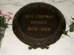Jane <I>Chapman</I> Broder