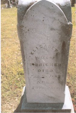 "Elizabeth Ann ""Betsy"" <I>Busby</I> Bricker"