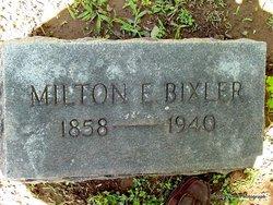 Melton Edward Bixler