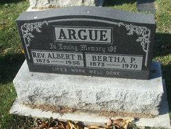 Rev Albert Benson Argue