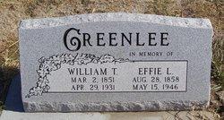 William Tolbert Greenlee