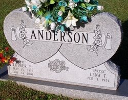 """Luther Ernest """"Pat"""" Anderson"""