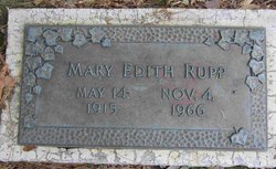 Mary Edith Rupp