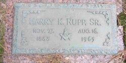 Harry K. Rupp, Sr