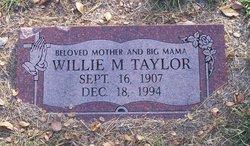"Willie Mabel ""Big Mama"" Taylor"
