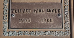 Wallace Paul Cowan