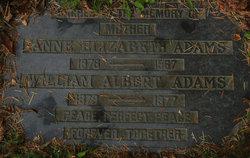 Anne Elizabeth <I>Woodhead</I> Adams