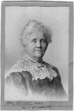 Mary Bartlett <I>Millett</I> Lane