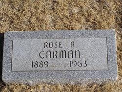 Rose A. <I>Parker</I> Carman