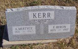 A Mertyce <I>Thompson</I> Kerr