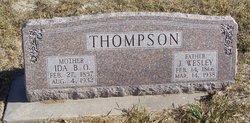 J Wesley Thompson