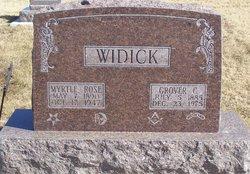 Grover Cleveland Widick