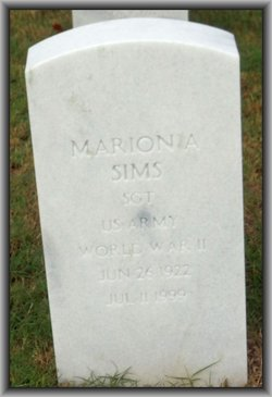 Marion A Sims