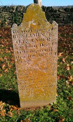 Rev Benjamin Franklin Alexander