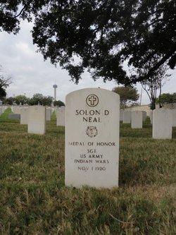 Solon D Neal