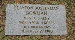 Clayton Bosserman Bowman