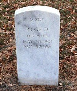 Rose D Cummings