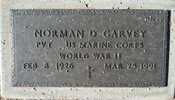 Norman D Garvey