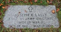 Joseph E Lally