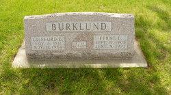 Ferne E. <I>Carlson</I> Burklund