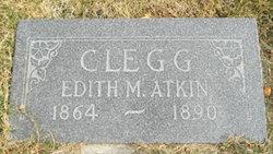 Edith <I>Atkin</I> Clegg