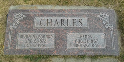 Myra Ann <I>Leonard</I> Charles