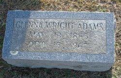 Glenna <I>Wright</I> Adams