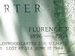Florence Rebecca <I>Baker</I> Carter