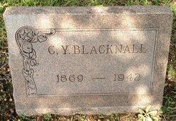 C Y Blacknall