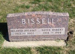Mildred Eva <I>Holaday</I> Bissell