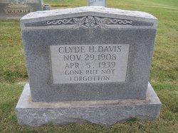Clyde H. Davis