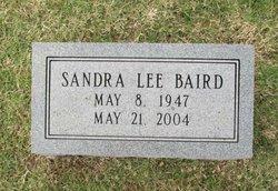 Sandra <I>Lee</I> Baird