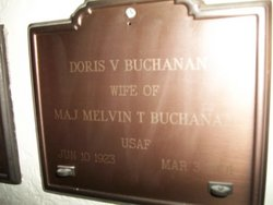 Doris Virginia <I>Wilson</I> Buchanan